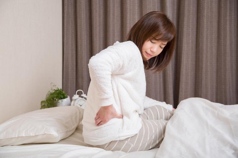 起床時の腰痛